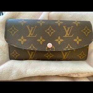 SOLD!! Authentic Louis Vuitton Emilie Wallet